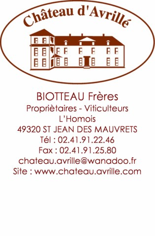 CHATEAU AVRILLE