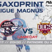 //GAME DAY// J-35 Saxoprint Ligue Magnus