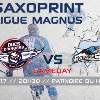 //GAME DAY// J-38 Saxoprint Ligue Magnus