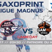 //GAME DAY// J-42 Saxoprint Ligue Magnus