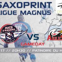 //GAME DAY// J-39 Saxoprint Ligue Magnus