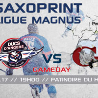 //GAME DAY// J-40 Saxoprint Ligue Magnus
