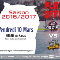 Prochain Match au Haras // PlayOffs // 10.03.17