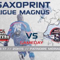 //GAME DAY// J-41 Saxoprint Ligue Magnus