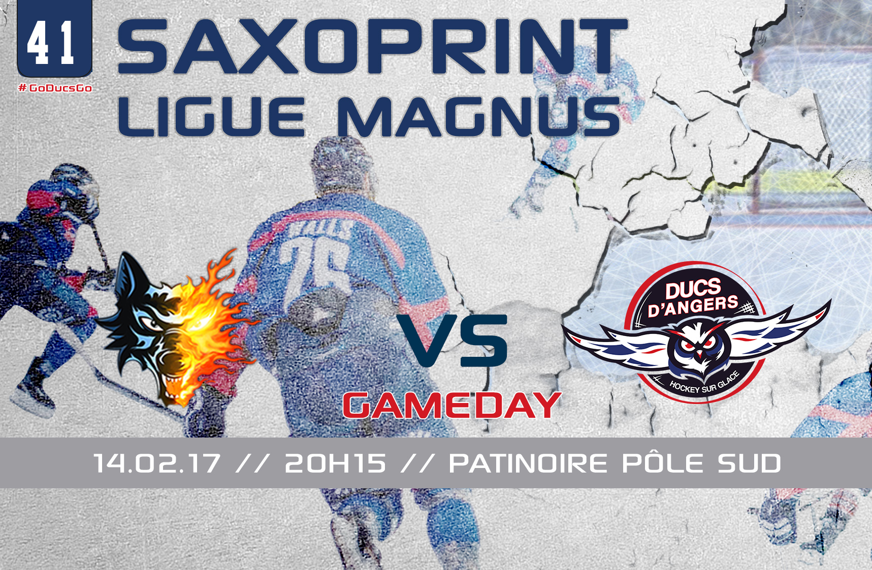 //GAME DAY// J-41 Saxoprint Ligue Magnus