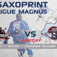 //GAME DAY// J-44 Saxoprint Ligue Magnus
