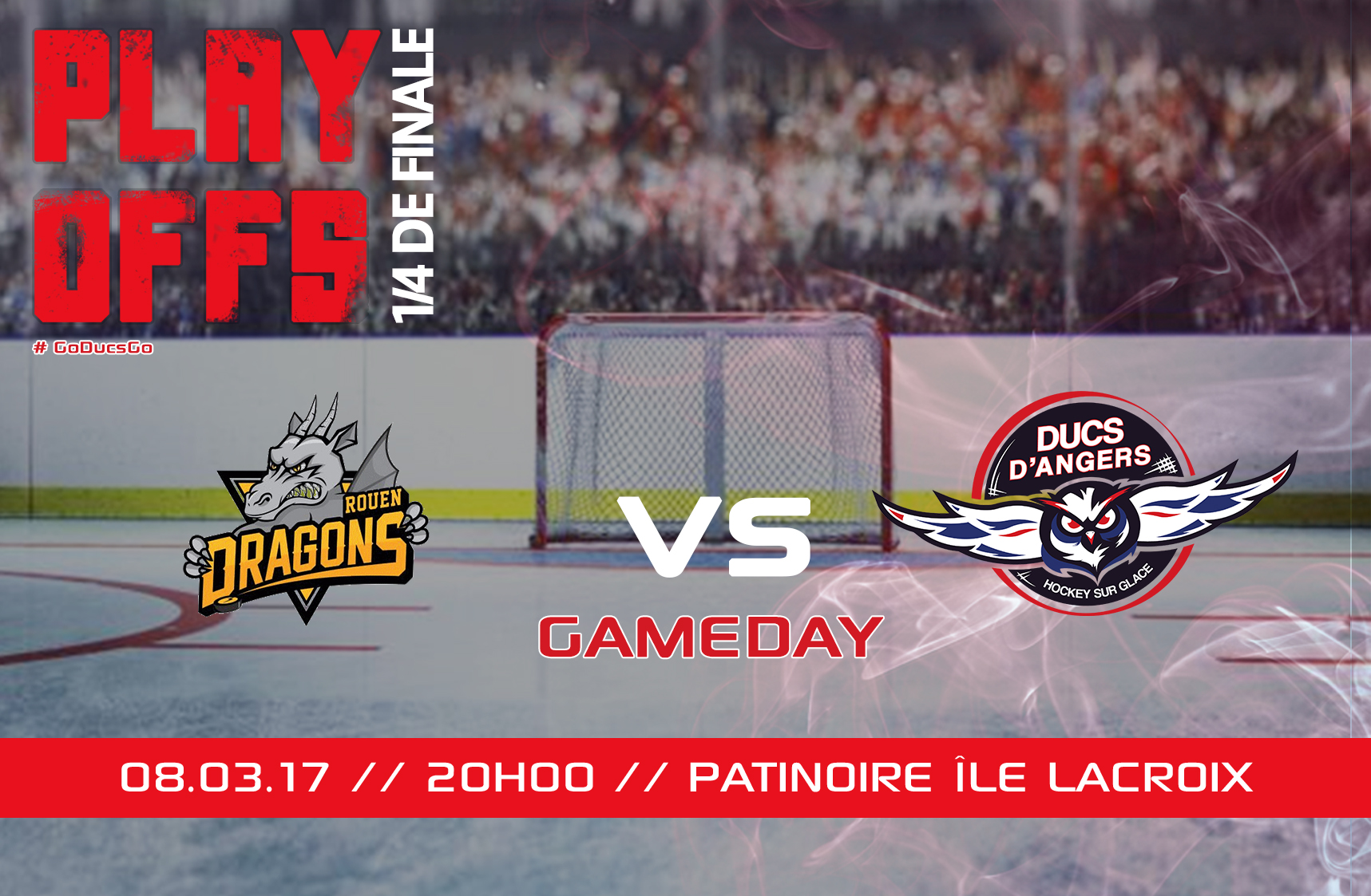 //GAME DAY// J.5 – #PlayOff // 08.03.17