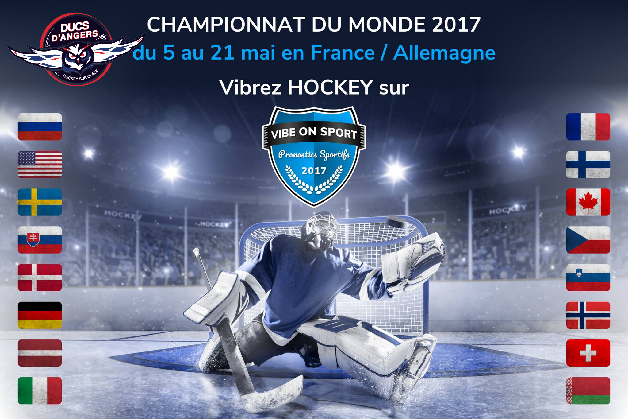 A vos pronostics « ICE HOCKEY WORLD CHAMPIONSHIP »