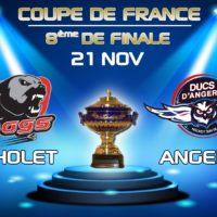 CDF : A Cholet pour un billet en 1/4 de finale !