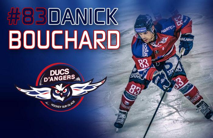 Top Scorer des Ducs, Danick BOUCHARD reste angevin !