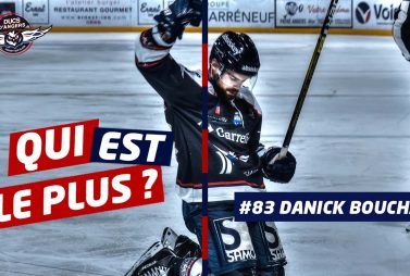 Danick Bouchard joueur des Ducs d'Angers